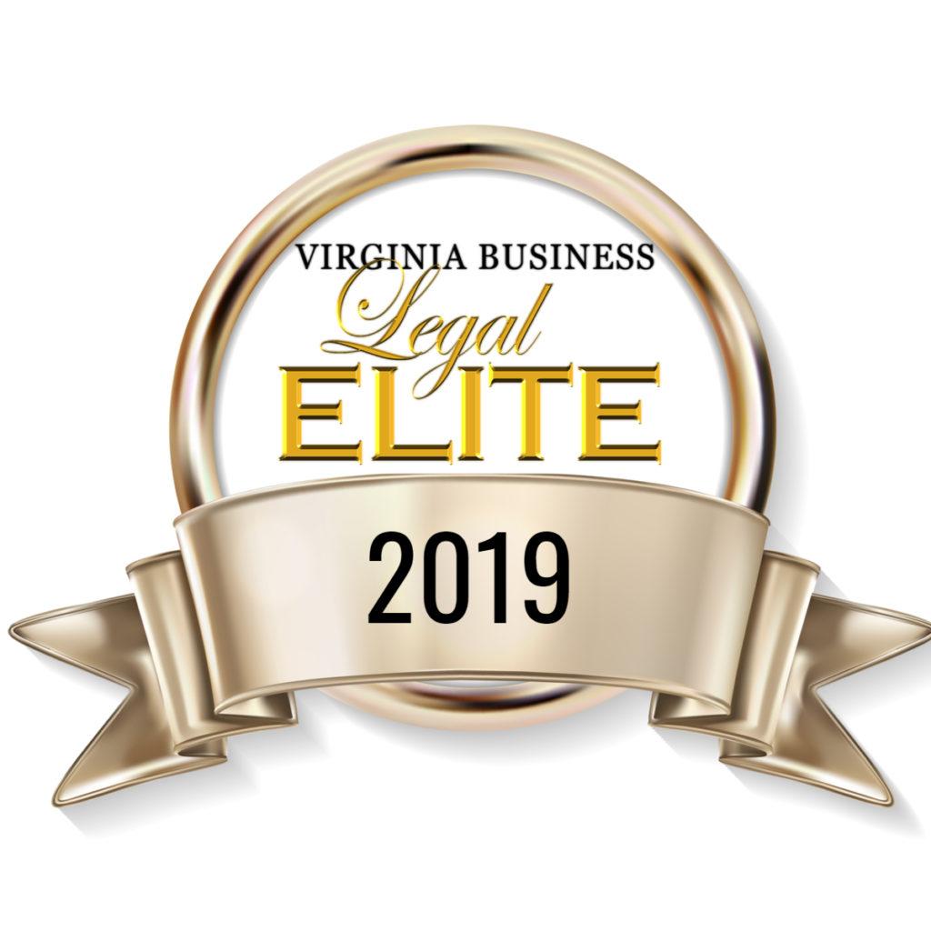 Virginia Business Legal Elite Aware 2019